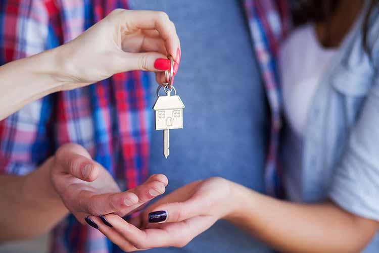 entrega llave vivienda