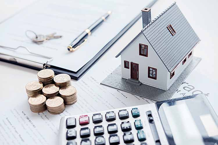 casa calculadora dinero contrato